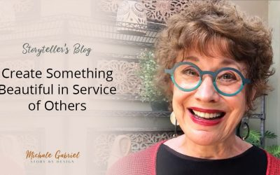 Create Something Beautiful in Service of Others