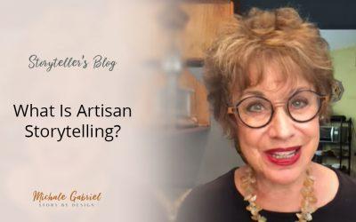 How is Artisan Storytelling like artisan bread?